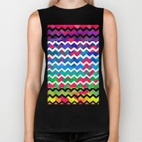 Mixed Colors Biker Tank