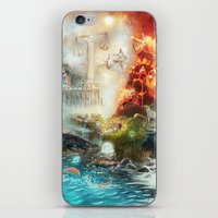The 4 elements of the Zodiac iPhone & iPod Skin
