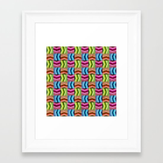Left, Right, Up, Down Framed Art Print