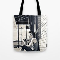 South Tacoma Skater  Tote Bag
