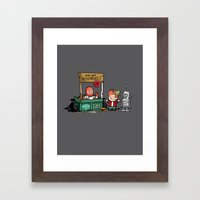 The Doctor is In.... Why not Zoidberg? Framed Art Print