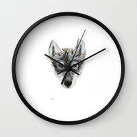 Wolfie  Wall Clock