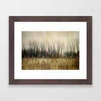 Marsh Edge Framed Art Print