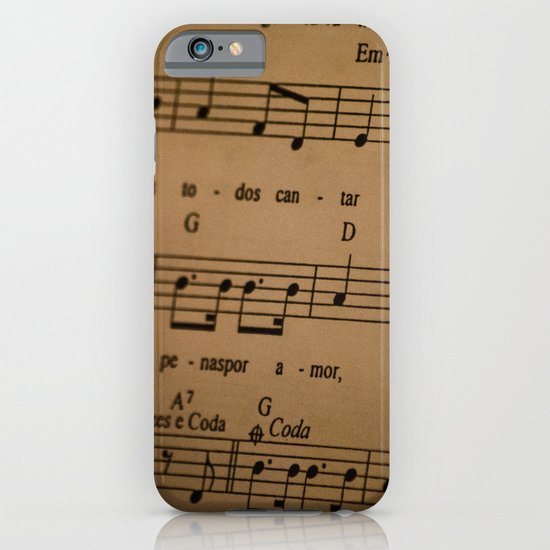 Music Tabs iPhone & iPod Case