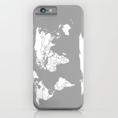 A Political Map of the World Slim Case iPhone 6s