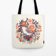 Wren Day Tote Bag
