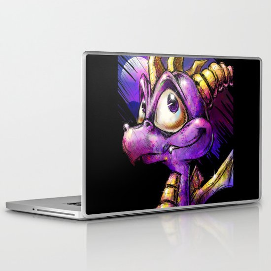 Spyro the Dragon Laptop & iPad Skin