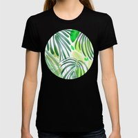 garden house Womens Fitted Tee Black SMALL