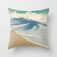SEA-MY-TREE Throw Pillow