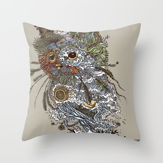 Colors to Nature. Throw Pillow