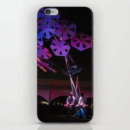 purple paper ponder iPhone & iPod Skin