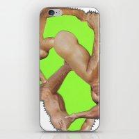 Fist Pump iPhone & iPod Skin
