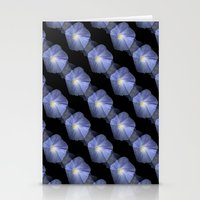 Morning Glory Illusion O… Stationery Cards