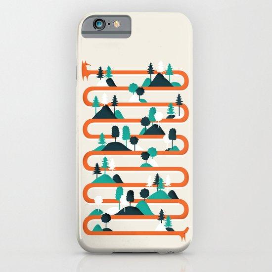 Foxy stripes iPhone & iPod Case