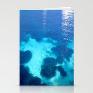 Forever Blue Stationery Cards