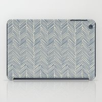 Freeform Arrows In Navy iPad Case