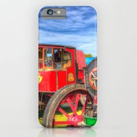 iPhone Cases featuring Traction Engine and Steam Lorry by David Pyatt