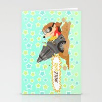 Molegirl Stationery Cards