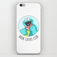 Book Monster iPhone & iPod Skin
