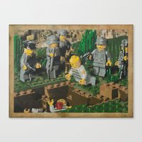 The Death of 90064 Canvas Print