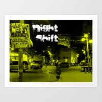 Night Shift Art Print