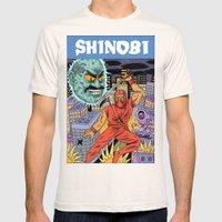 Shinobi Mens Fitted Tee Natural SMALL