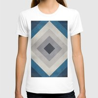 Greece Hues Tunnel 2 Womens Fitted Tee White SMALL