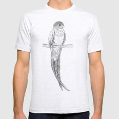 Quetzal Mens Fitted Tee Ash Grey SMALL