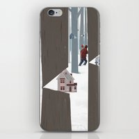 A Tree In The Forest iPhone & iPod Skin