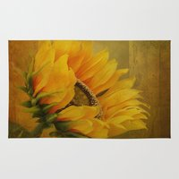 Sunflower Magic Rug