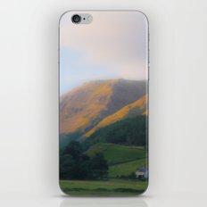 Golden Mountain Sunset iPhone & iPod Skin