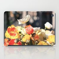 Summer Poppies iPad Case