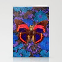 Caterflies Stationery Cards