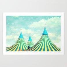 circus tent 2 Art Print