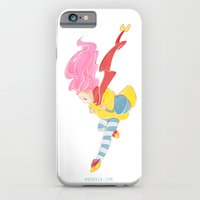 iPhone & iPod Case featuring  jump jump jump! jumping down! by Moonsia