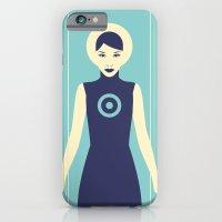 Isolde Blue iPhone 6 Slim Case