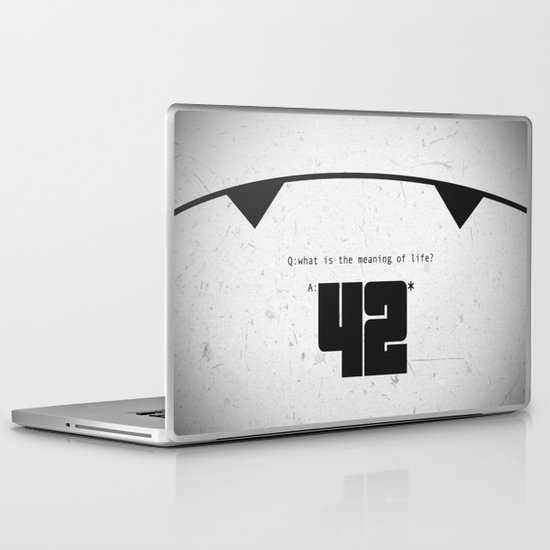 The Hitchhiker's Guide to the Galaxy Laptop & iPad Skin