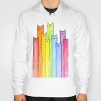 Rainbow of Cats Hoody