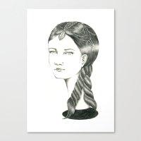 H2 Canvas Print