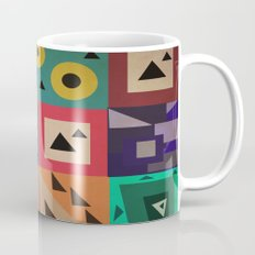 crazy triangles Mug