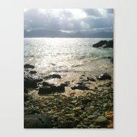 Canvas Print featuring Sea-renity by atwice