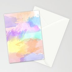 Watercolor Splash Stationery Cards