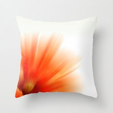 Vivid red 2 Throw Pillow