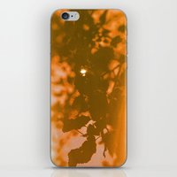 Orange Haze And White Su… iPhone & iPod Skin