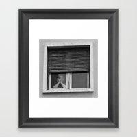 Rough Game Framed Art Print