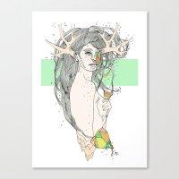 colour blind VI Canvas Print