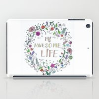 Awesome  Life Color iPad Case