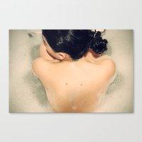 Bathtime Canvas Print