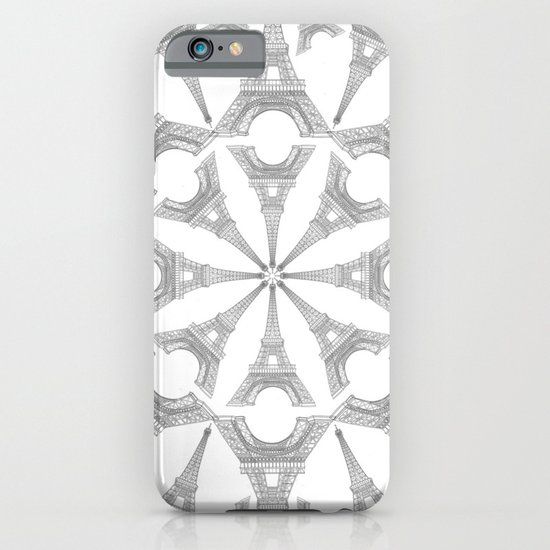 Paris in a Kaleidoscope iPhone & iPod Case