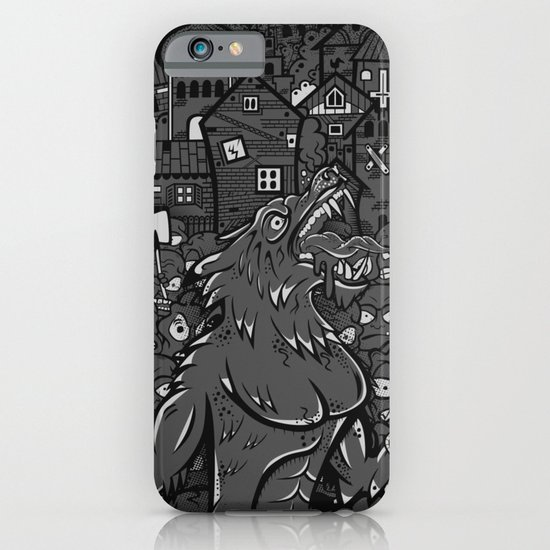 WOLVES OF PERIGORD iPhone & iPod Case